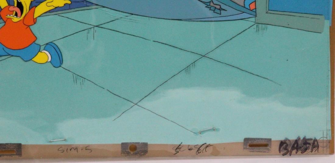 1990 Simpson's Sequential Key Cel Art SEASON 1 - 3
