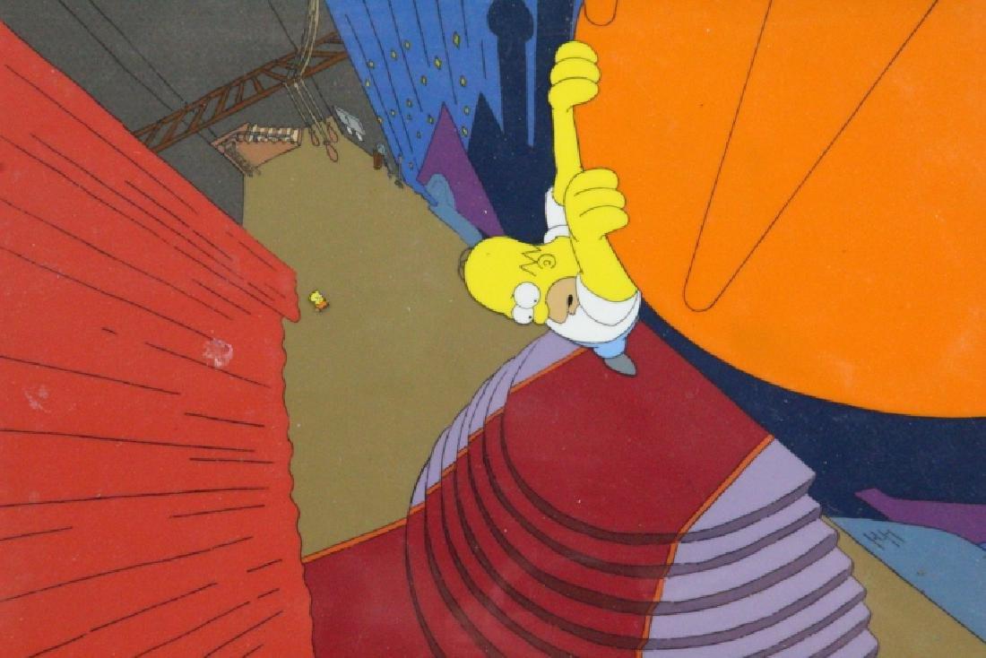 1990 Simpson's Sequential Key Cel Art SEASON 1 - 2