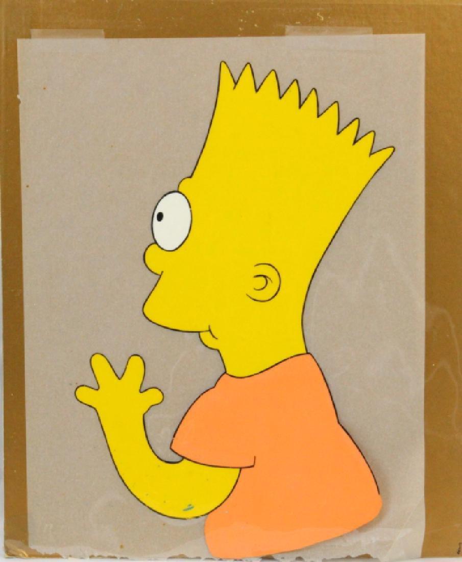 """Simpson's Animation Art SEASON 1 """"Bart Simpson"""""""
