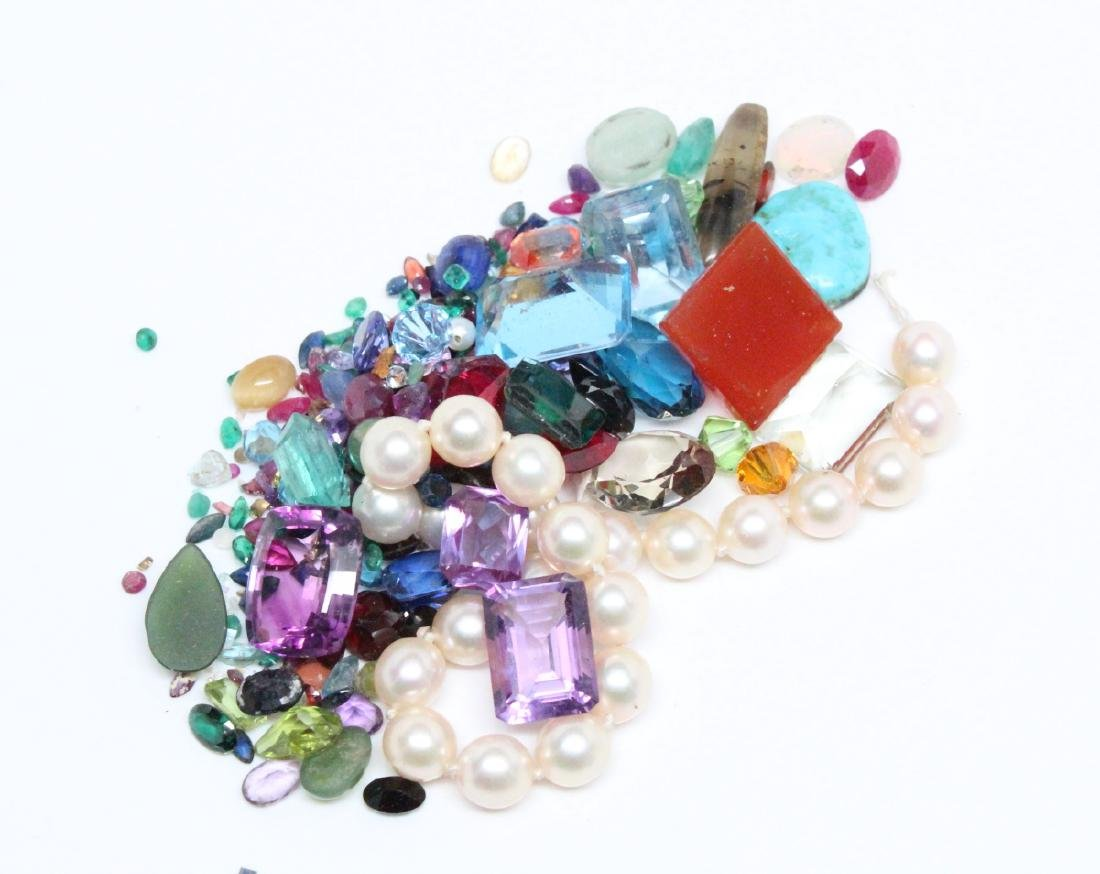 Lot of UNSEARCHED Genuine Gemstones **READ**