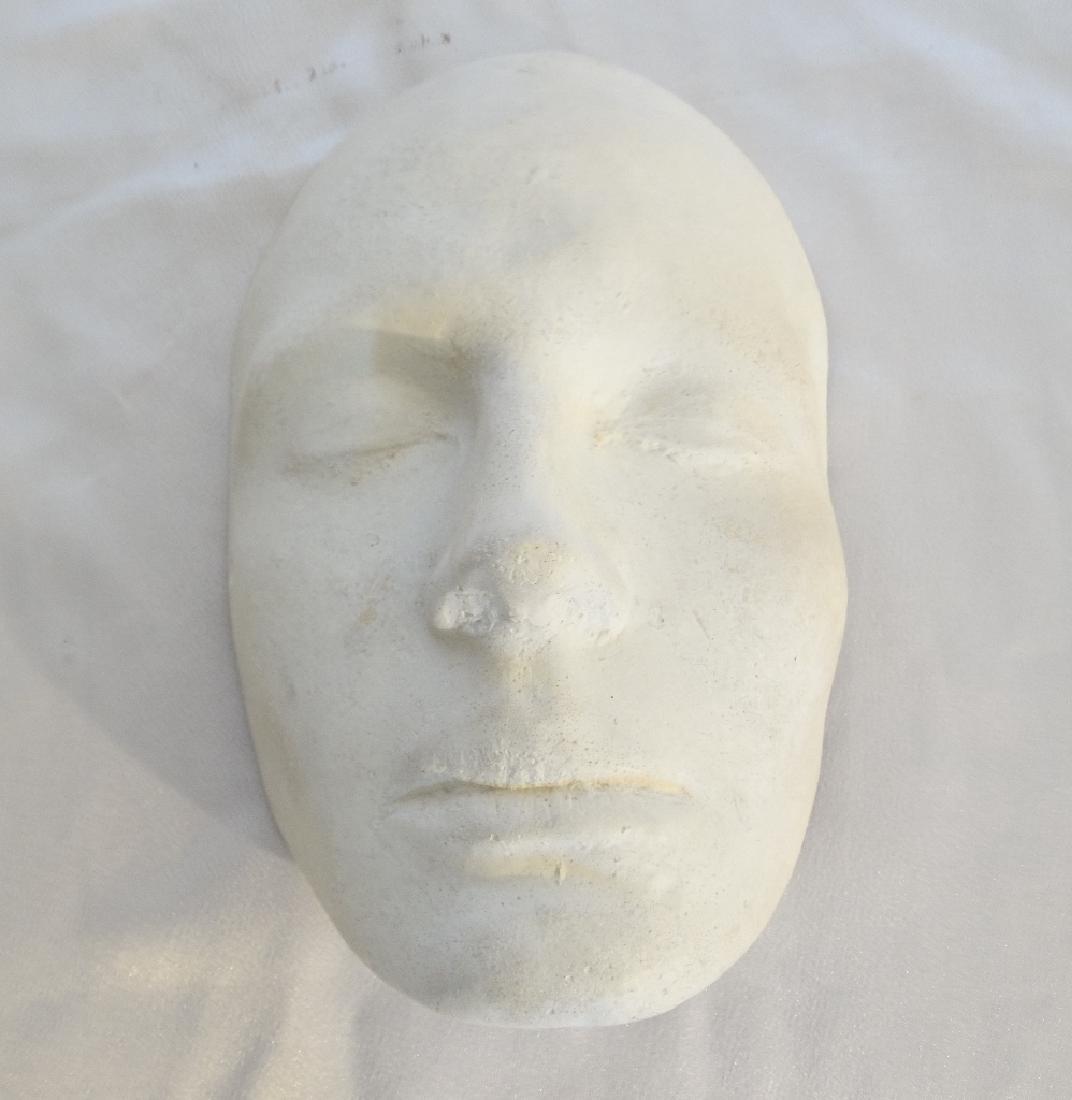 Julia Roberts White Plaster Life Mask W/COA