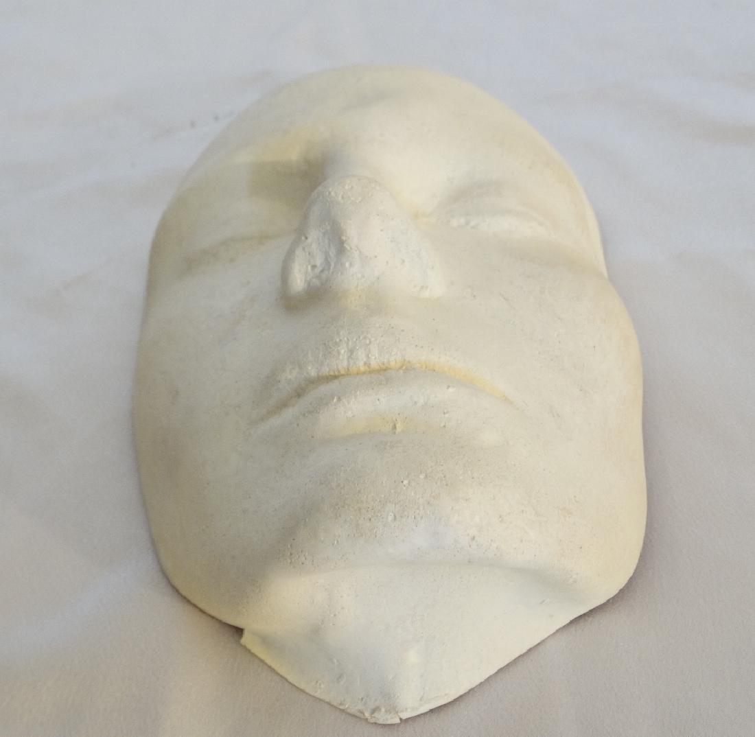 Julia Roberts White Plaster Life Mask W/COA - 2