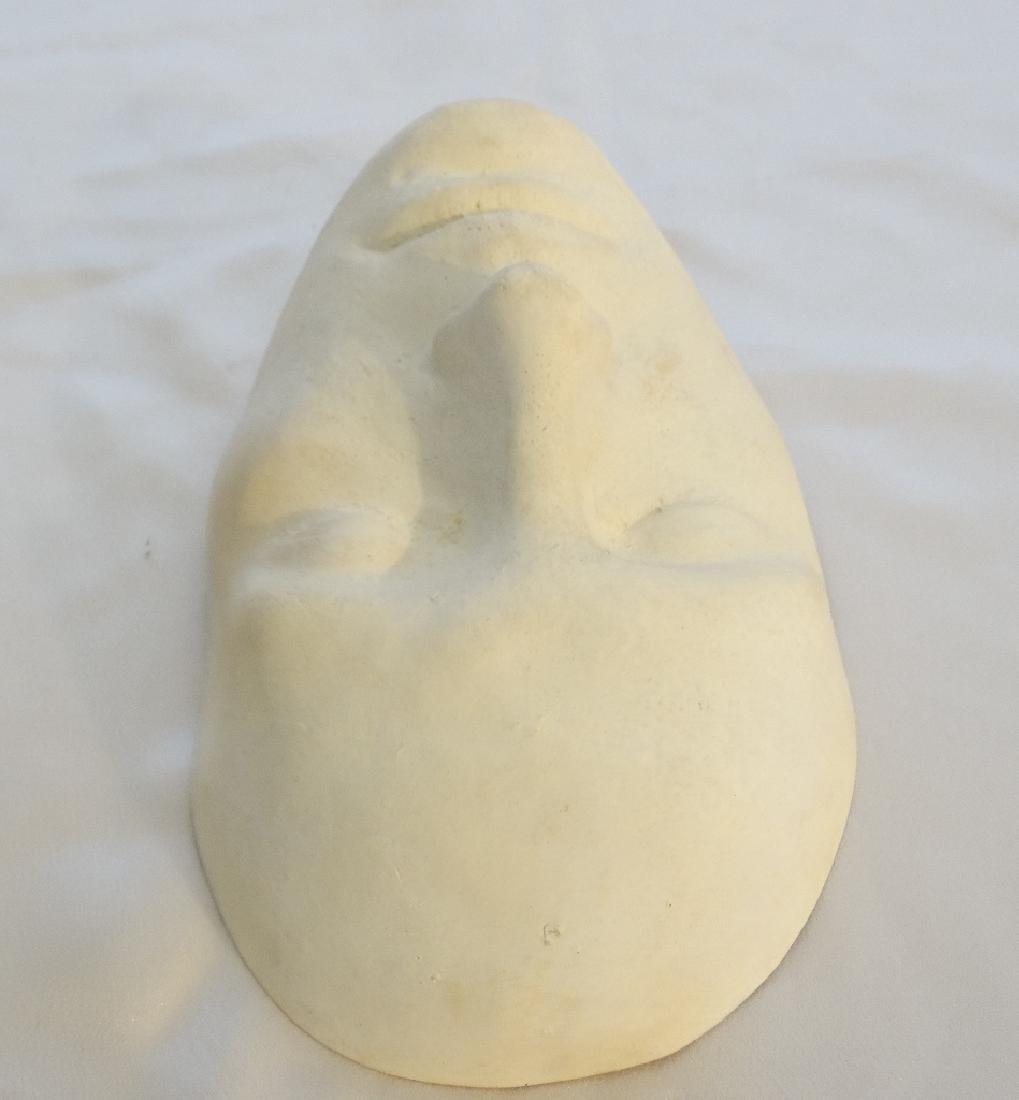 Julia Roberts White Plaster Life Mask W/COA - 4