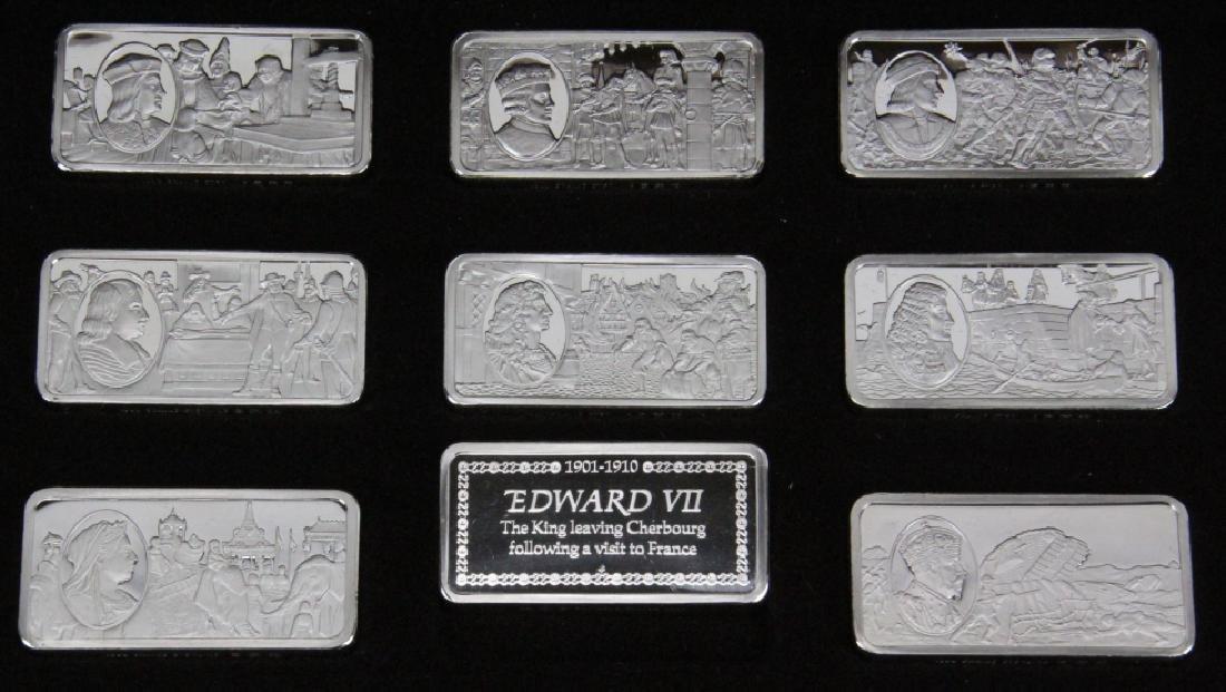 Franklin Mint (50) Ingot Set (APPROX. 3300 GRAMS) - 6