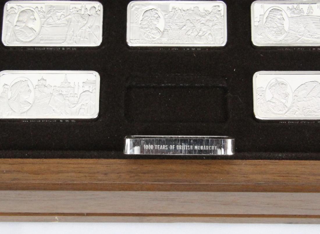 Franklin Mint (50) Ingot Set (APPROX. 3300 GRAMS) - 7