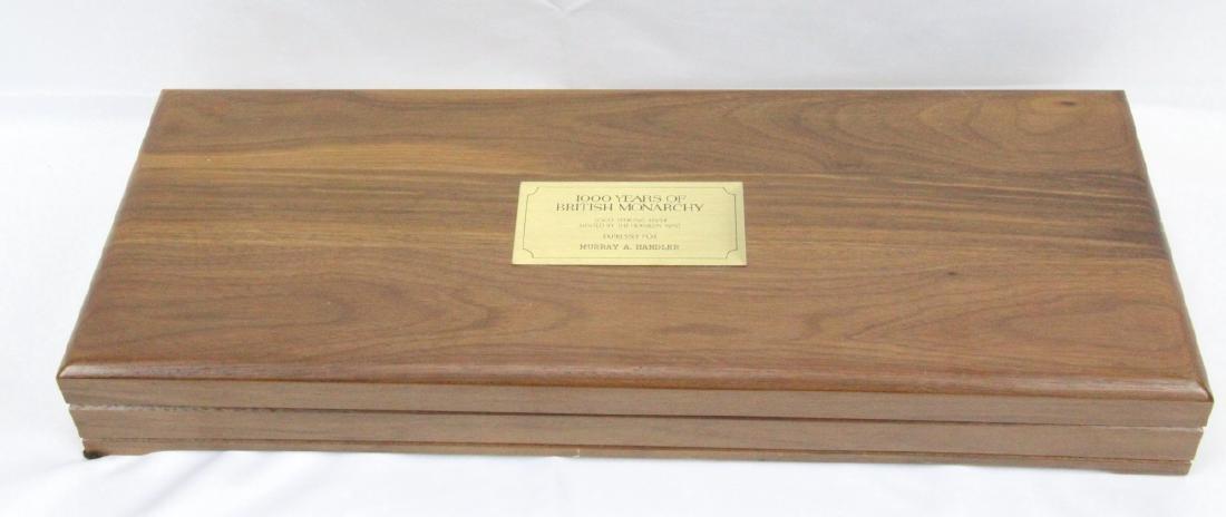 Franklin Mint (50) Ingot Set (APPROX. 3300 GRAMS) - 9