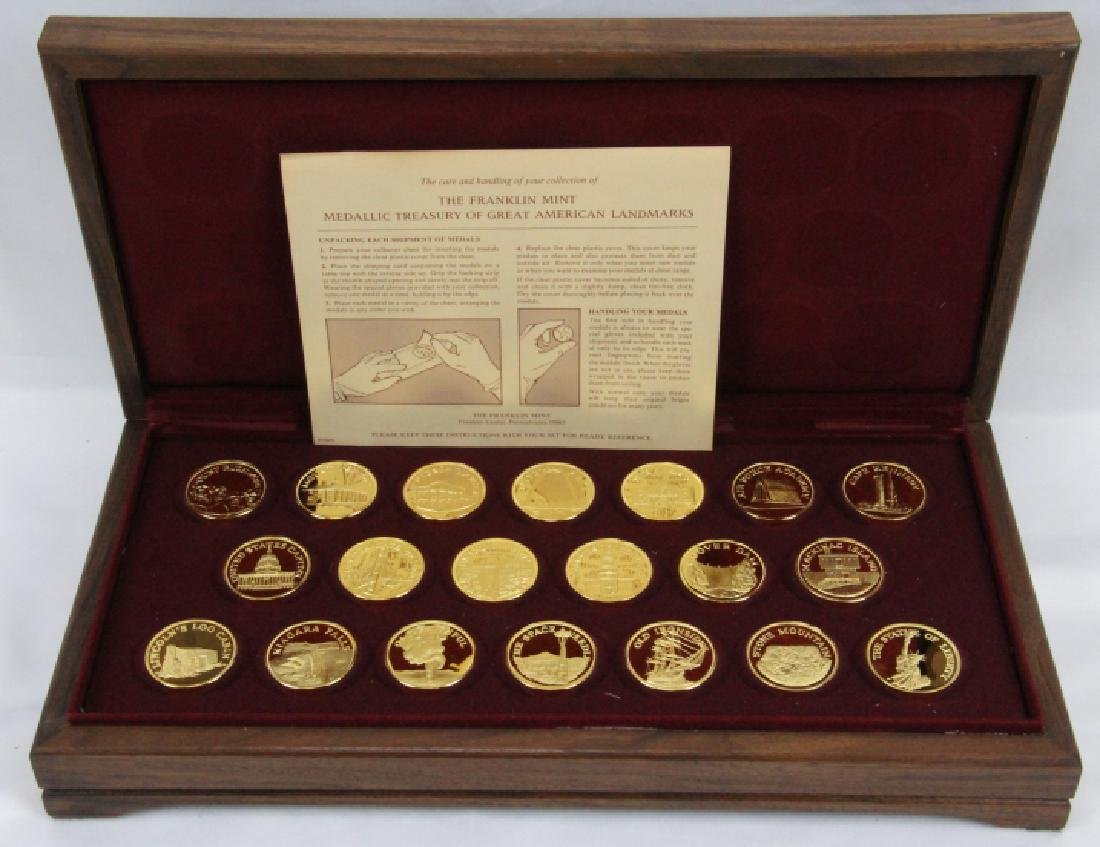 Franklin Mint (20) Round Set (APPROX. 660 GRAMS)