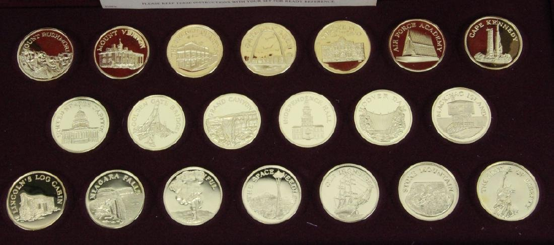 Franklin Mint (20) Round Set (APPROX. 660 GRAMS) - 2