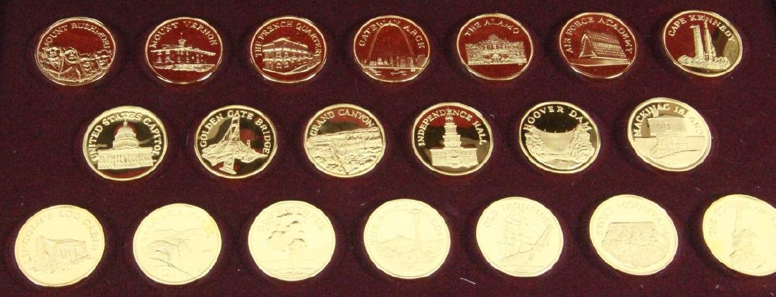 Franklin Mint (20) Round Set (APPROX. 660 GRAMS) - 3