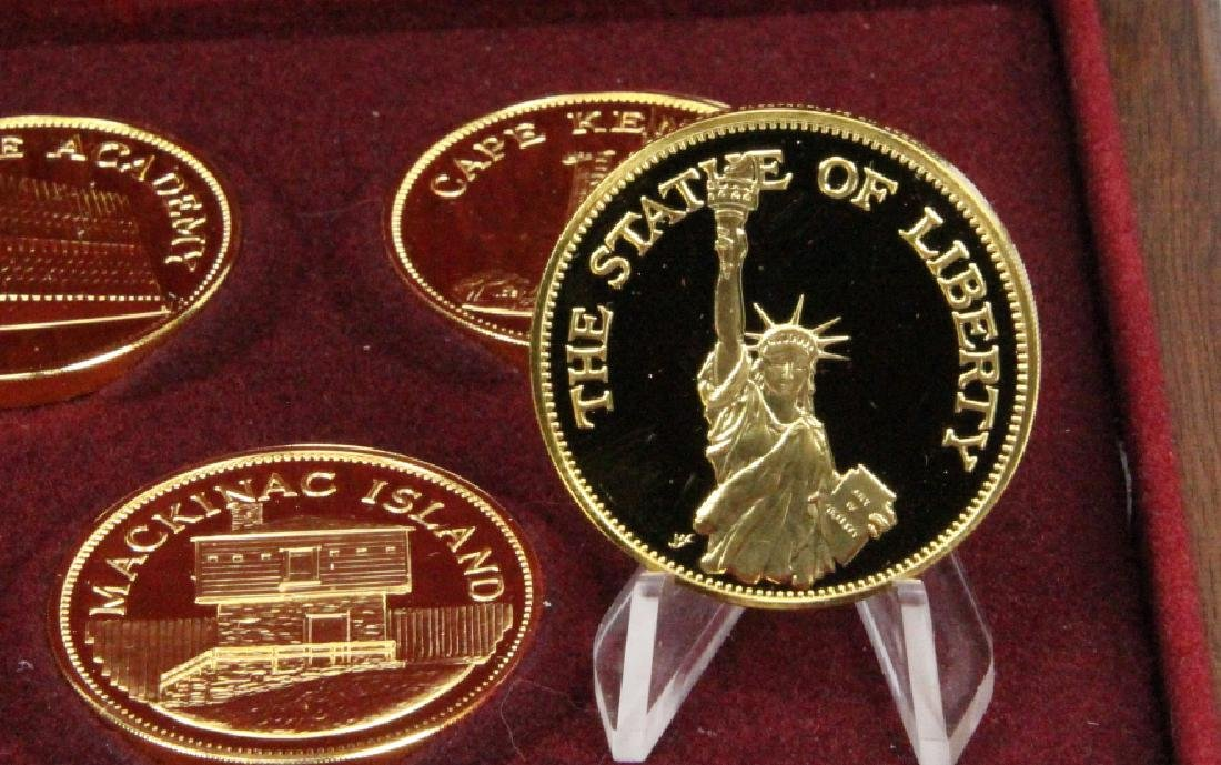 Franklin Mint (20) Round Set (APPROX. 660 GRAMS) - 4