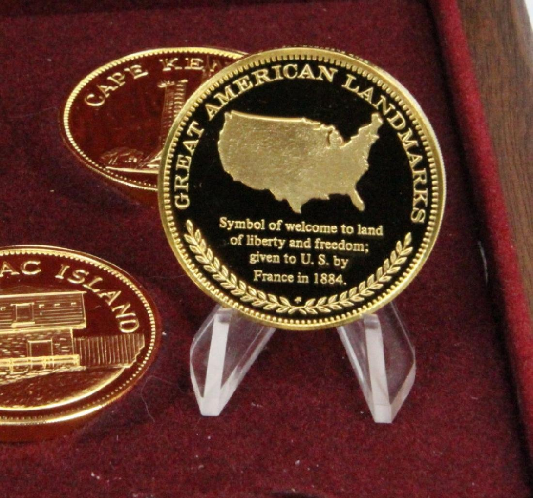 Franklin Mint (20) Round Set (APPROX. 660 GRAMS) - 5