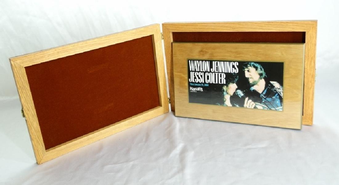 Waylon Jennings/Jessi Colter Wall Plaque W/COA