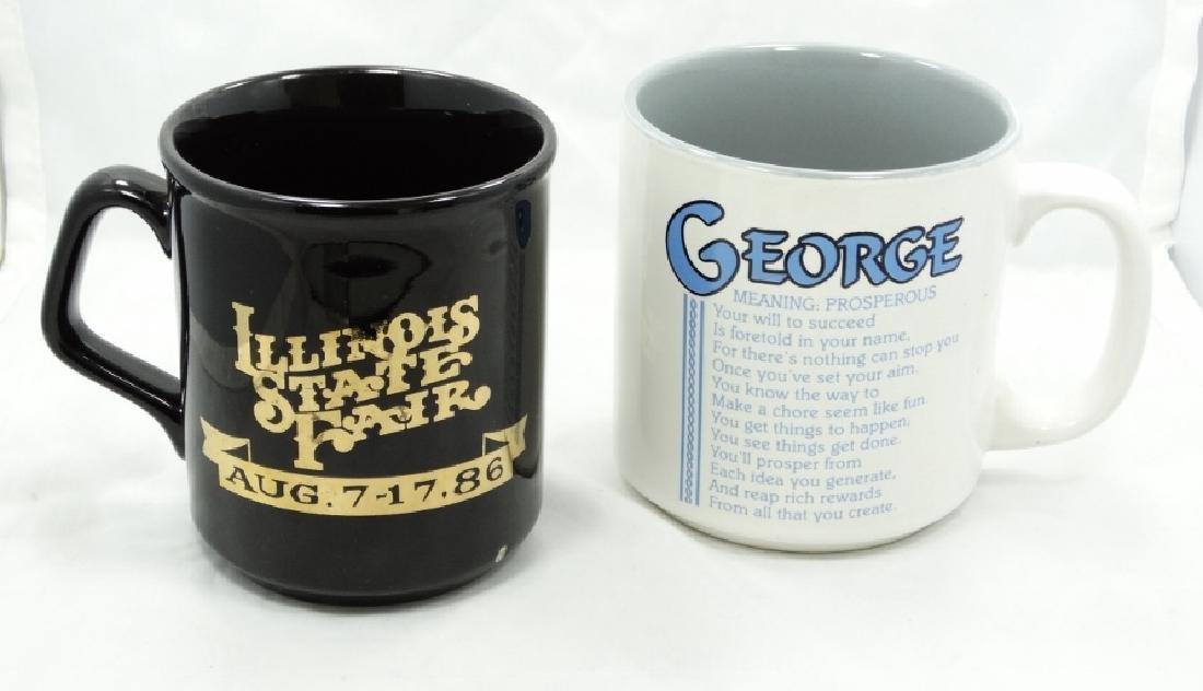 George Jones Personally Owned Coffee Mugs W/COA
