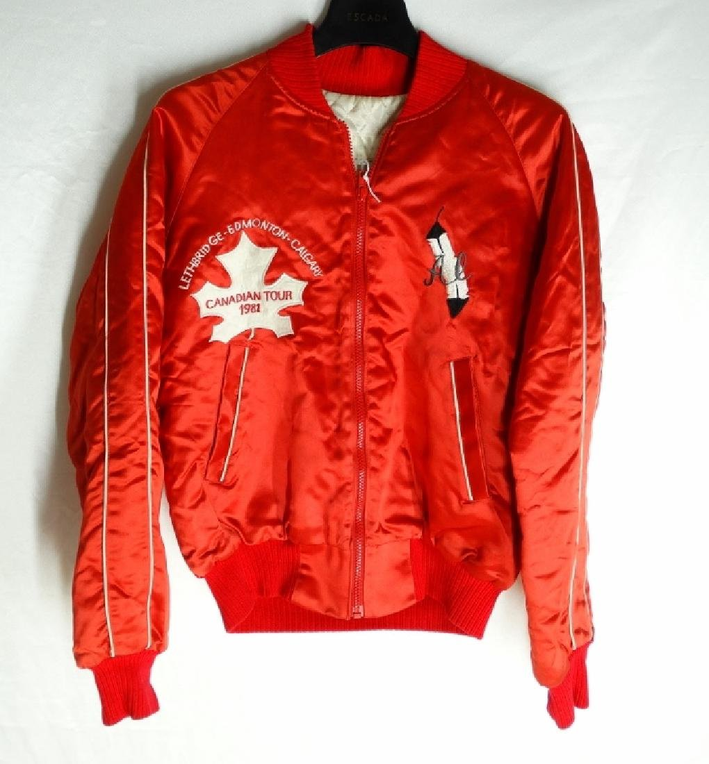 Wayne Newton 1981 Canadian Tour Jacket W/COA