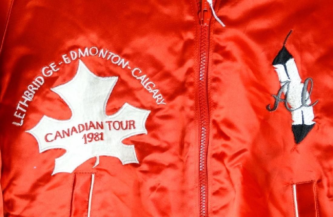 Wayne Newton 1981 Canadian Tour Jacket W/COA - 2