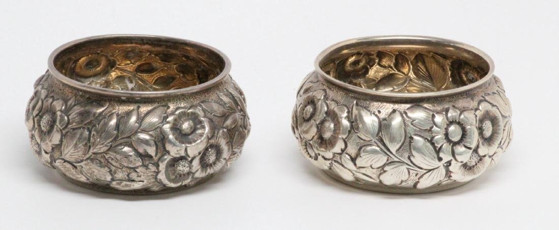 (2) Shiebler & Co. Sterling Silver Sugar Cellars