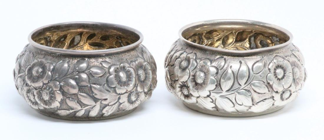 (2) Shiebler & Co. Sterling Silver Sugar Cellars - 2