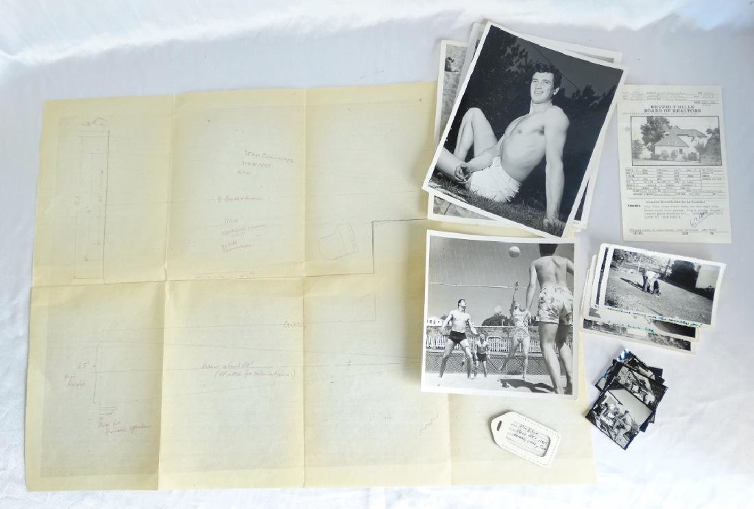 Rock Hudson Personally Owned Items W/COA
