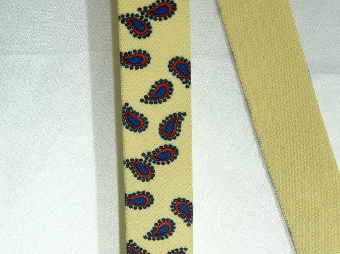 Roy Acuff Yellow Suspenders From Acuff Estate - 2