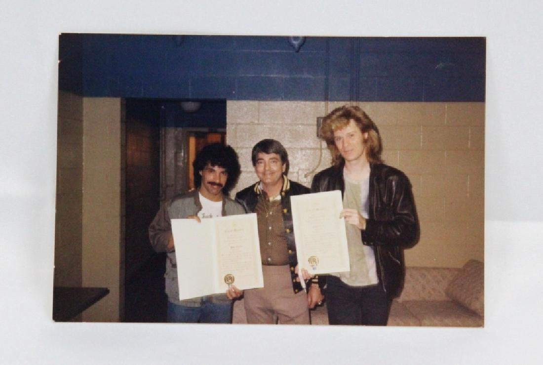 John Oates (Hall & Oates) Personally Owned Plaque - 4