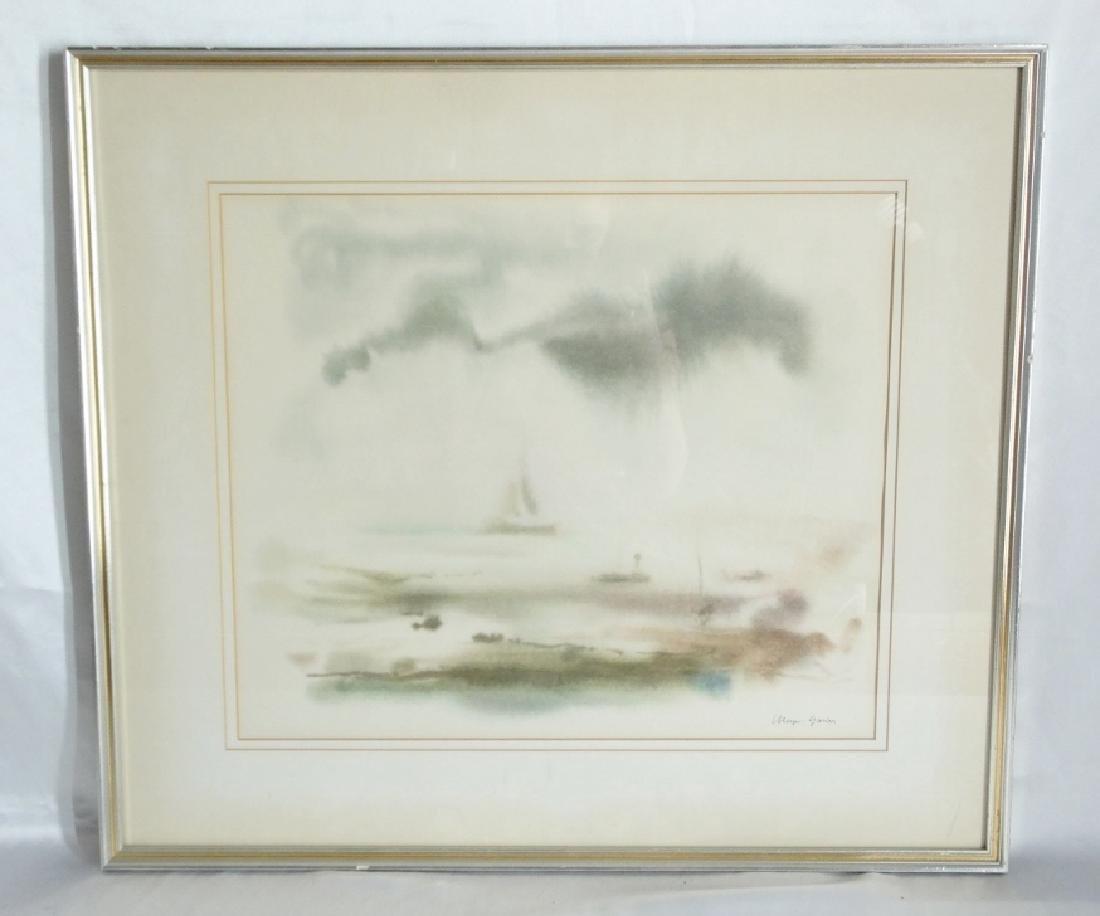 (2) Meyer Garlen Original Watercolor Paintings - 2