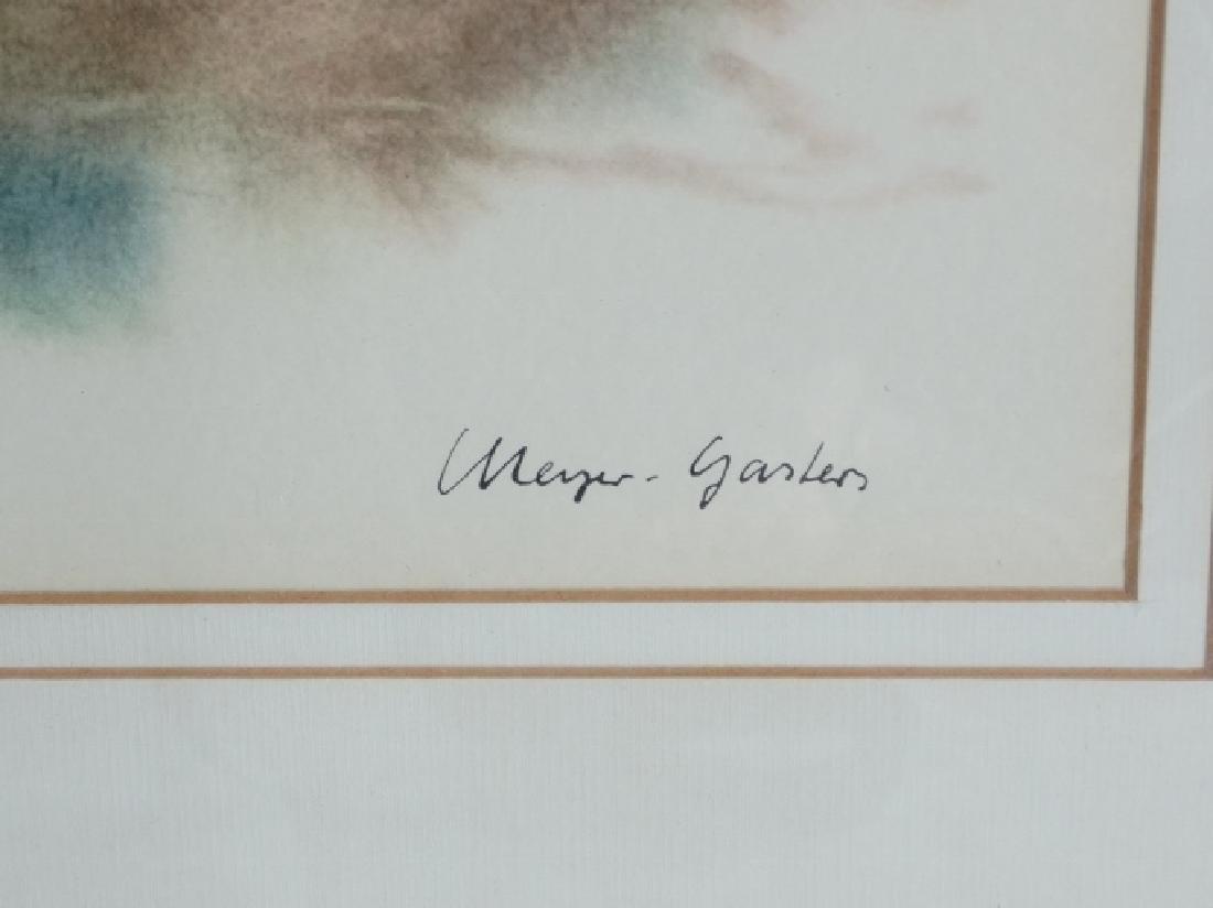 (2) Meyer Garlen Original Watercolor Paintings - 3