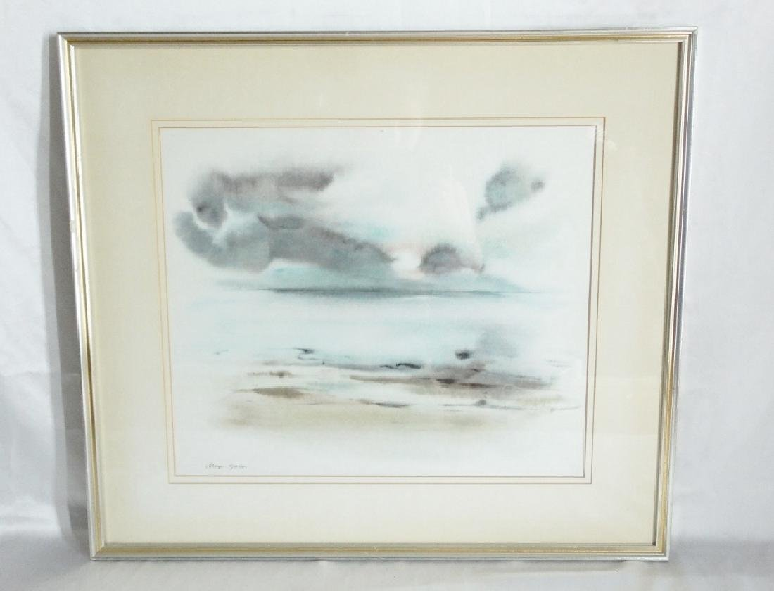 (2) Meyer Garlen Original Watercolor Paintings - 5