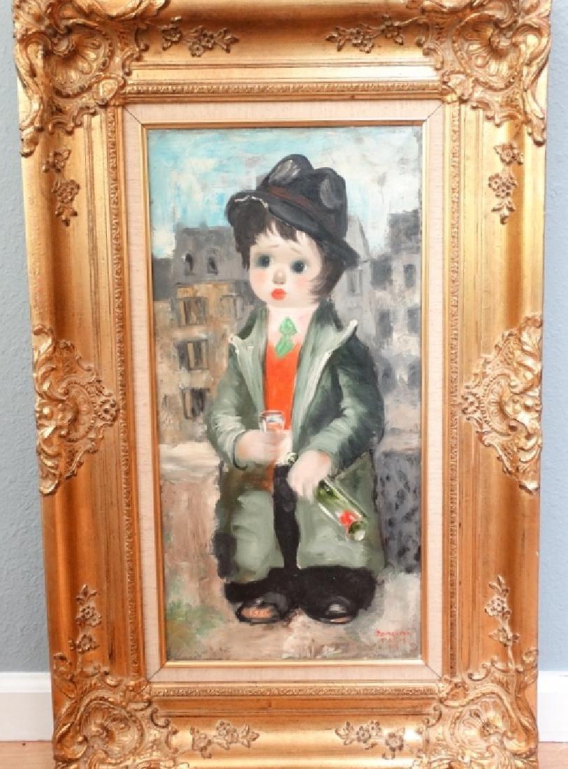 "Santini Poncini ""Douce Ivresse"" Original Painting"