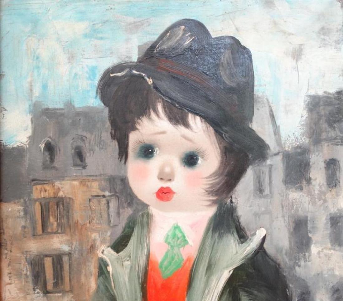 "Santini Poncini ""Douce Ivresse"" Original Painting - 2"