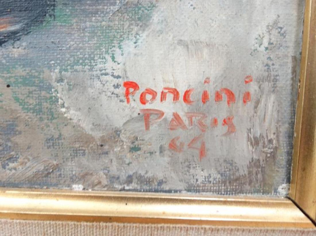 "Santini Poncini ""Douce Ivresse"" Original Painting - 4"