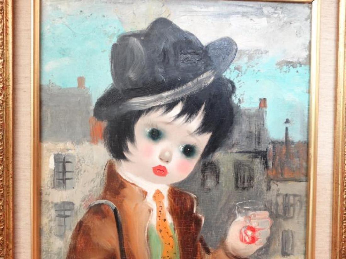 Santini Poncini Original Oil on Canvas Painting - 2