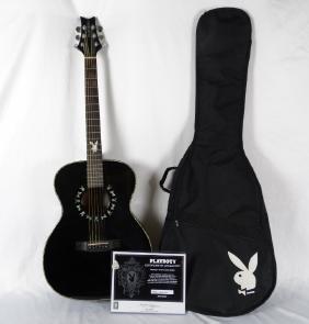 "Playboy ""Midnight Pearl"" Ltd. Ed. Acoustic Guitar"