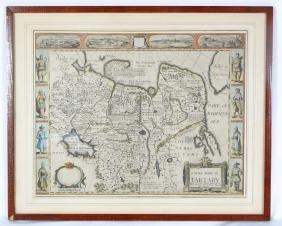 """A Newe Mape of Tartary 1626"" Framed Map"