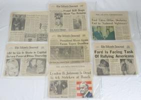 (7) 1973-1974 Newspaper Articles (Nixon & Others)