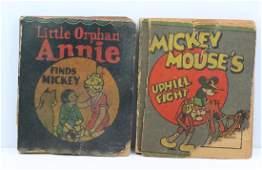 (2) Antique Mini Books by Whitman Publishing Co.