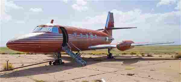 Elvis Presley's Private Lockheed Jetstar Jet