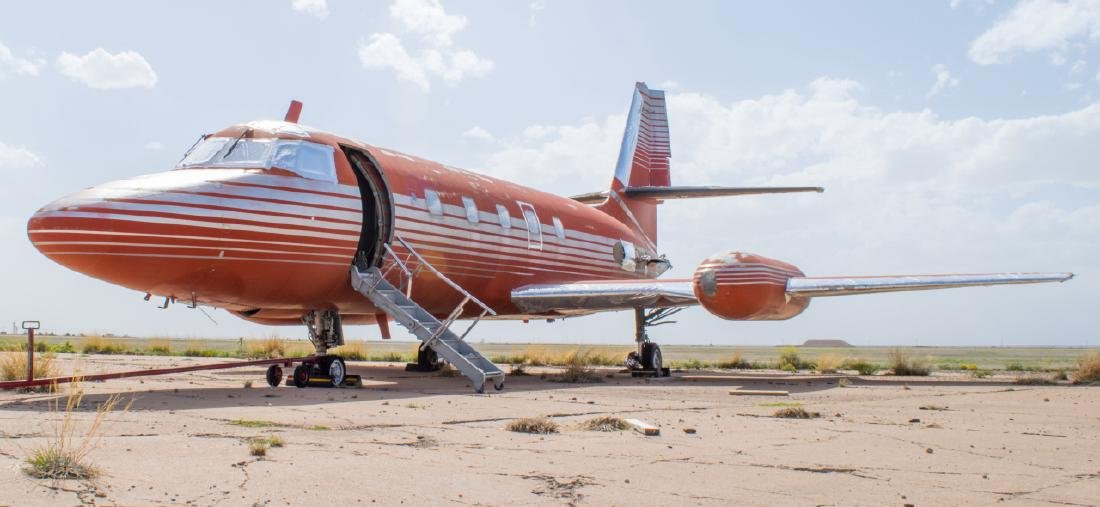 Elvis Presley's Private Lockheed Jetstar Jet - 2