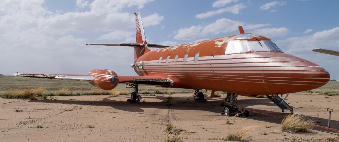 Elvis Presley's Private Lockheed Jetstar Jet - 4