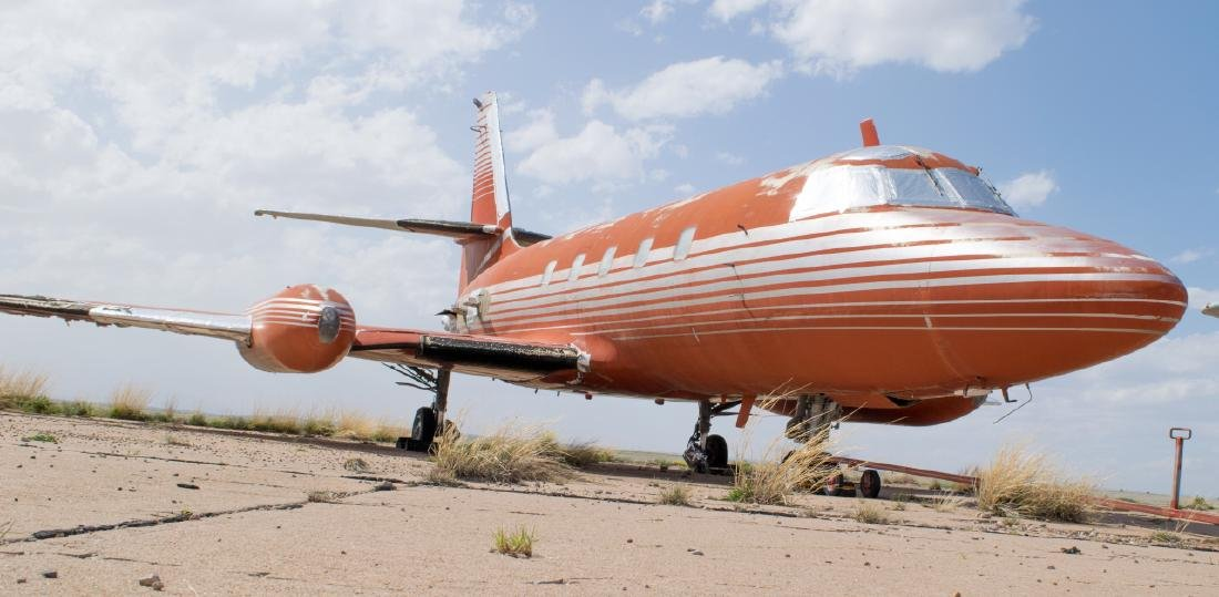 Elvis Presley's Private Lockheed Jetstar Jet - 8