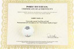 Sammy Davis Jr. Personalized Golf Ball W/COA