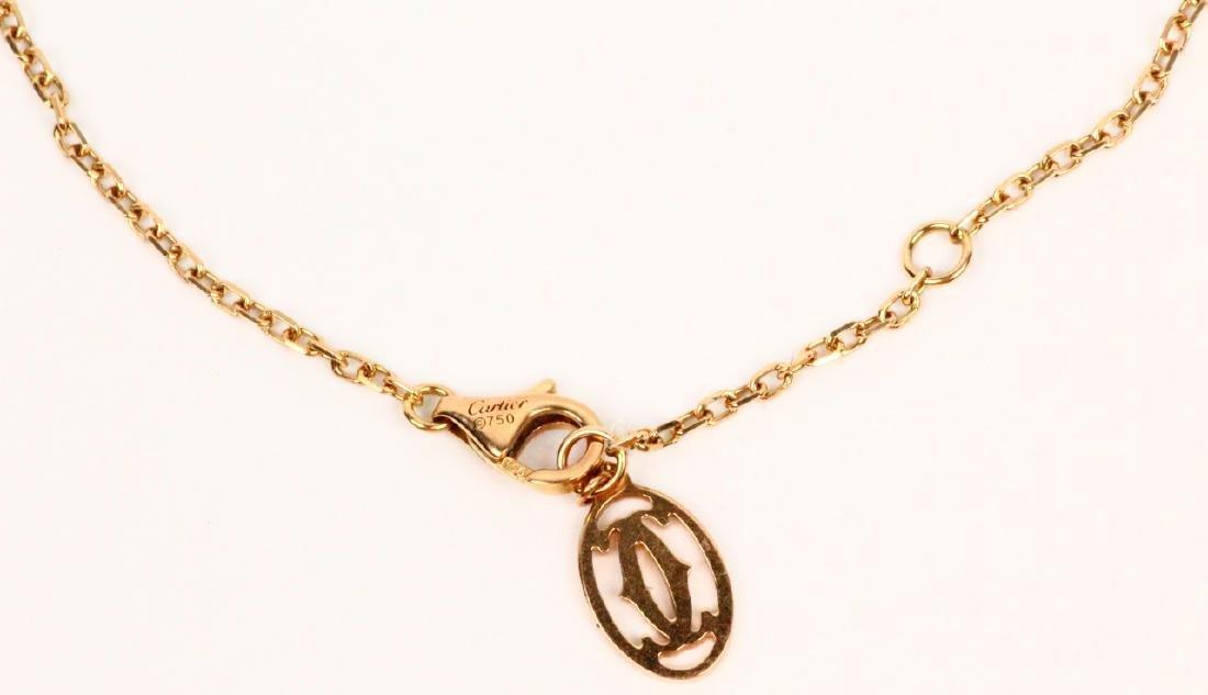 Cartier 18K Pink Gold & Pink Sapphire Bracelet - 2