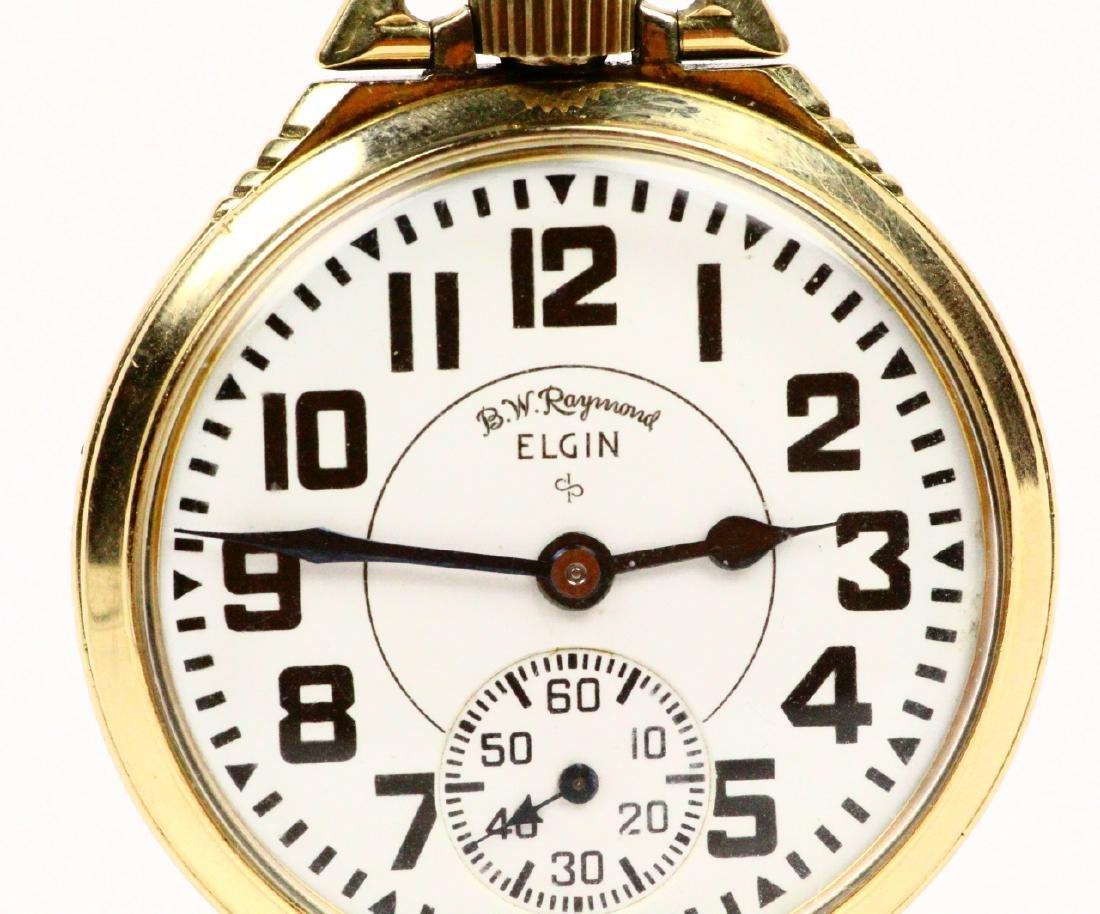 1951 Elgin B.W. Raymond Open Face 21J Pocketwatch - 2