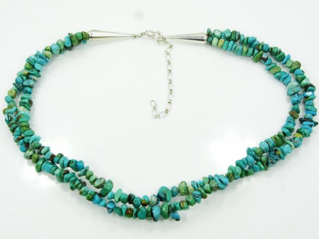 Carolyn Pollack for Relios Turquoise Necklace