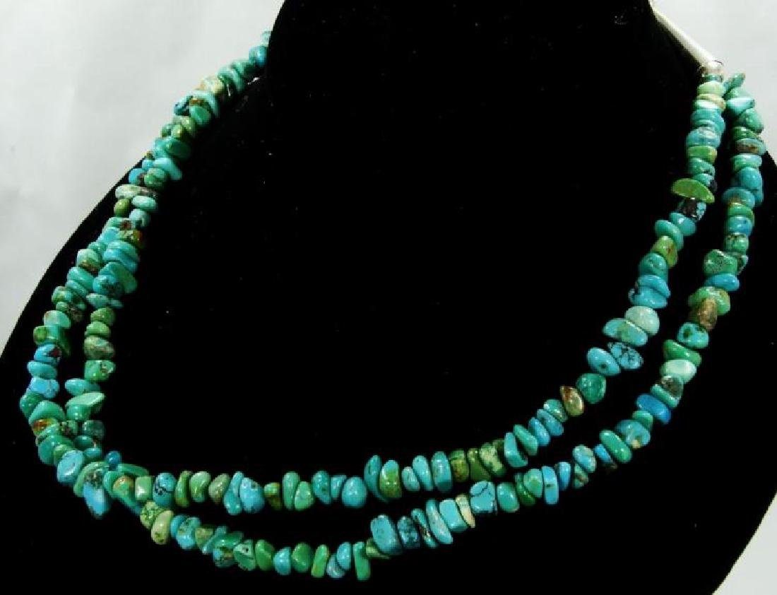 Carolyn Pollack for Relios Turquoise Necklace - 4