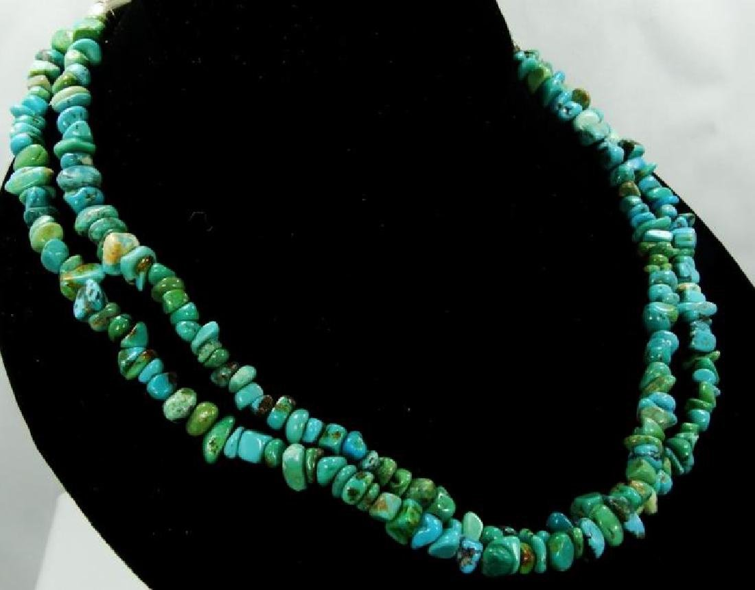 Carolyn Pollack for Relios Turquoise Necklace - 5