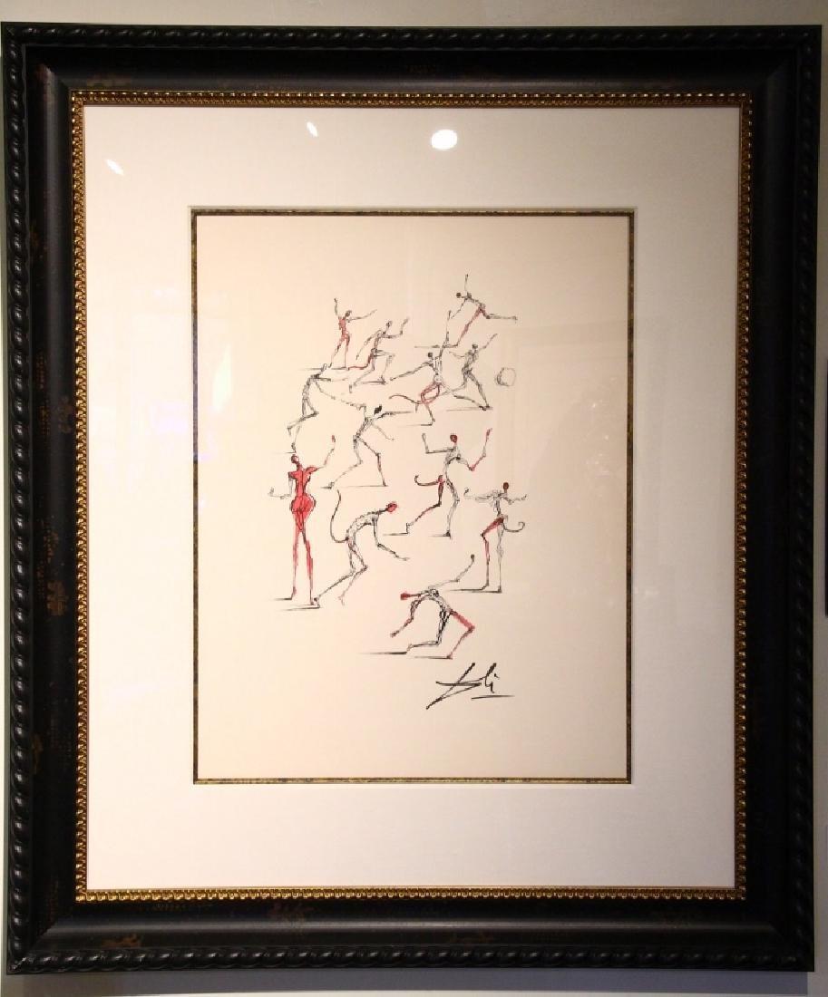 """Salvador Dali Original Study for """"Les Demons"""""""