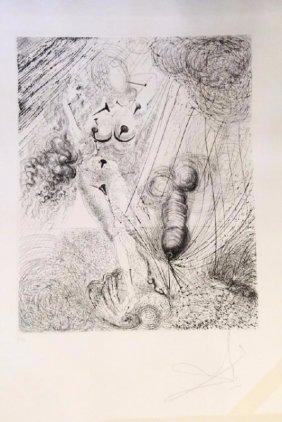 """Salvador Dali (1904-1989) """"the Birth Of Venus"""""""
