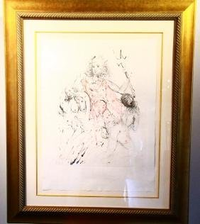 "Salvador Dali (spanish, 1904-1989) ""neptune"""