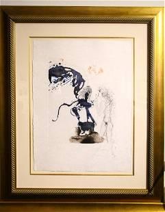 "Salvador Dali ""Oedipus and the Sphinx"""