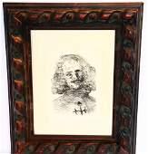 "Salvador Dali (Spanish, 1904-1989) ""Velazquez"""